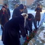 В Кольцово отметили годовщину снятия блокады Ленинграда