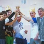 Семь команд разыграли VIII Кубок Кольцово по простынболу