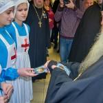 Митрополит Тихон посетил отделение детского паллиатива в Кольцово