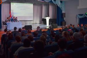 Социально-экономический форум в Кольцово.