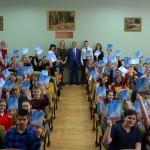 Мэр наукограда пообщался со старшеклассниками