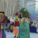 Видео. Проводы зимы в Кольцово