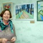 В наукограде открылась выставка кольцовской художницы