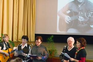 День поэзии в Кольцово посвятили творчеству Владимира Высоцкого.