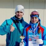 Лыжница из Кольцово стала бронзовым призером региональных стартов в Томске