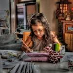 В Кольцово принимают работы на областной конкурс детского творчества