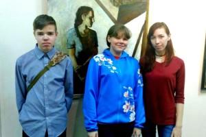 Кольцовские художники на олимпиаде «Хрусталик».