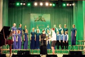 Средний хор завоевал Гран-при фестиваля.