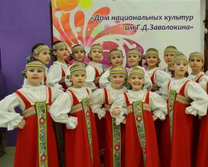 Младшая группа «Девчат».