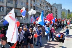 День Победы в Кольцово.