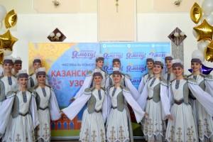«Девчата» на «Казанских узорах».