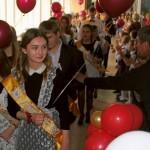 Последние звонки прозвучали в школах Кольцово