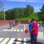 Юные кольцовцы прошли обучение в Школе дорожной безопасности
