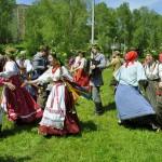«Зеленые святки» вписались в антураж парка Кольцово