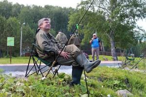 В парке Кольцово всегда клюет!