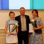 Кольцовскую чтицу чествовали в правительстве области