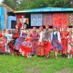 Кольцовчанки открыли фестиваль «У моря Обского»