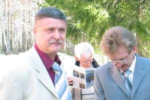 Леонид Никулин — слева.