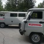 Больница в Кольцово получила новую машину скорой помощи