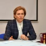 Научный центр Кольцово посетила Анна Попова