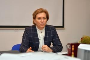 Главный санитарный врач РФ Анна Попова.