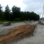 В Кольцово начато строительство двух рекреационных зон