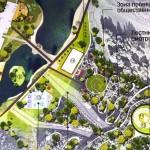 Начаты работы над «тропой здоровья» в парке Кольцово