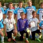 Юные футболисты из Кольцово стали лучшими на междугороднем турнире