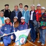На спартакиаде пенсионеров НСО кольцовцы вошли в пятерку победителей