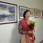 В Кольцово открылась персональная выставка Оксаны Понкратьевой