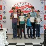 Кольцовские шахматисты блестяще выступили на первенстве НСО