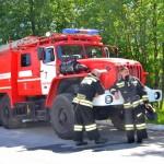 Охраняющей Кольцово пожарной части — 40 лет