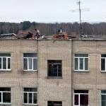Кровли двух домов АБК в Кольцово ремонтируют по программе капремонта