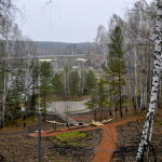 Завершился первый этап работ в парке Кольцово