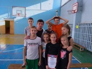 Команда-победитель из лицея №21.