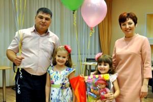 Победители конкурса «Мой ребенок-2017» -- семья Худяковых-Андросенко.