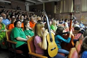 На открытии фестиваля «Кольцово-2017».