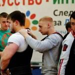 Кольцовский тренер с учениками  выжал «новогоднее» железо
