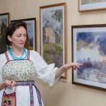 Минкульт экспонирует картины художницы из Кольцово