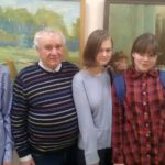 Самые колоритные работы на «Хрусталике» выполнили художники из Кольцово