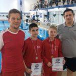 Третий этап первенства Новосибирска по плаванию покорился кольцовцам
