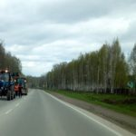 Начался ремонт на трассе Академгородок — Кольцово