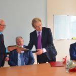 Кольцово посетил министр здравоохранения НСО