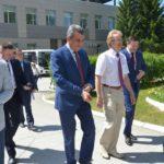 Кольцово посетил с визитом полпред президента РФ в СФО Сергей Меняйло
