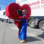 Донор Жанна Якушина получила благодарность мэра Новосибирска