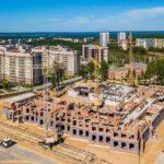 Стартовал второй этап строительства в Кольцово третьей школы
