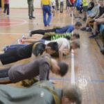 День призывника в Кольцово: наравне с юношами соревновались ветераны