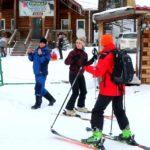 В Кольцово открылся горнолыжный сезон