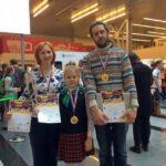 Семья из Кольцово победила на чемпионате России по Cuboro