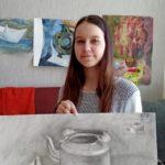 Юная художница из Кольцово взяла награду «Хрусталика»